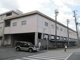 淡路交通の本社がある旧洲本バスターミナル