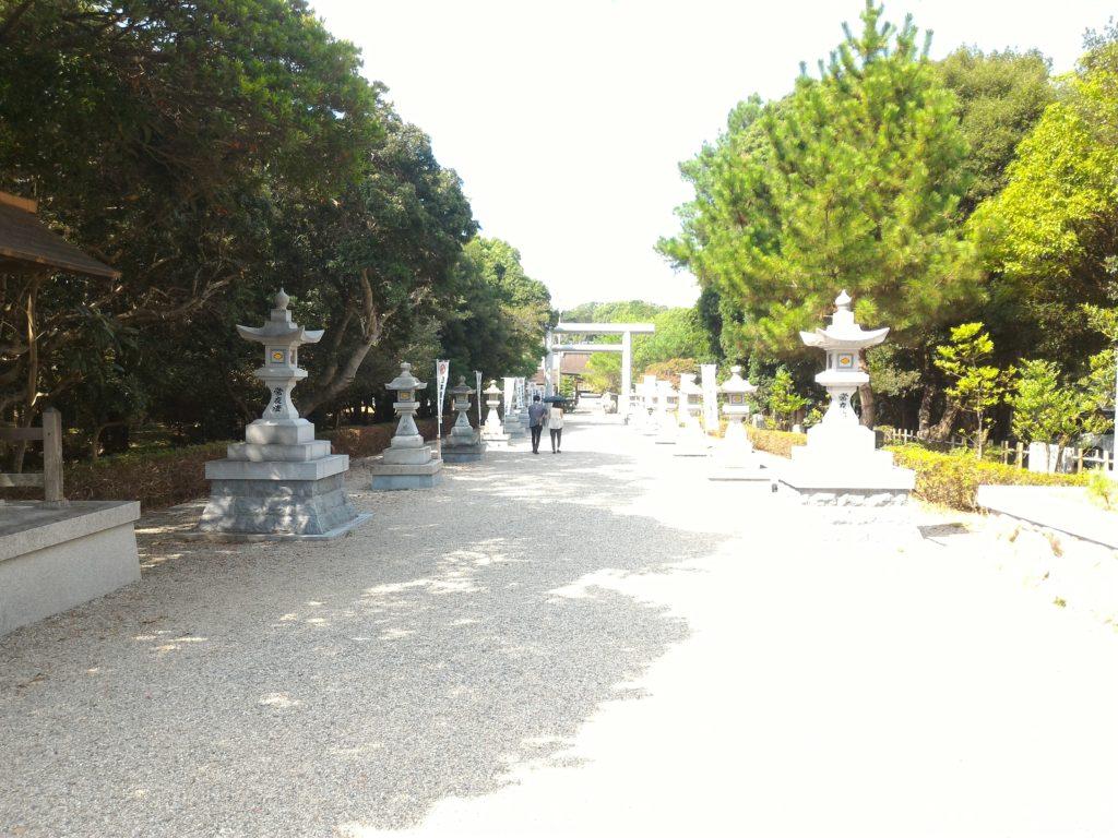 伊弉諾神宮 参拝