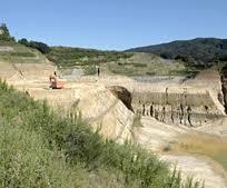 土砂採取跡地